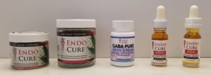 Endo Cure hemp flowers and oil
