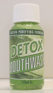 Natural Cleansing Detox Mouthwash